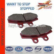 High quality safety non-asbestos disc brake pad