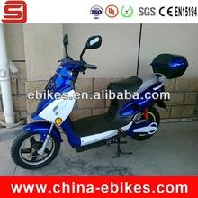 350 w de scooter motorizada com pedais
