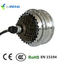 48v Electric bicycle brushless geared motor with cassette