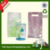 Clear cosmetic plastic bag,pvc bag packaging