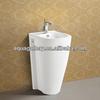 Sanitary Ware Decorated Pedestal Basin