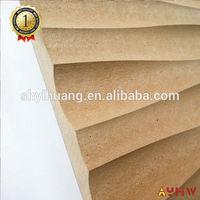 high quality wave middle density wood fiber board