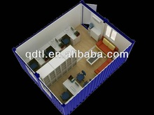 Mobile container 40ft show room/cafe shop/house/home/office for sale
