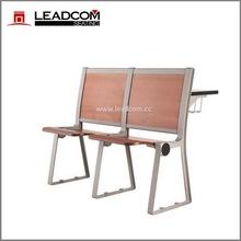 Leadcom aluminum stanchion school student desk and chair LS-918M