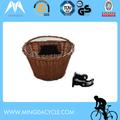 Oem China fabricante de vime cesta da bicicleta