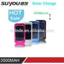 3500mah Portable Mini Laptop Solar Power Bank for mobile homes