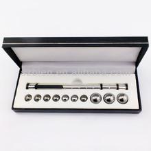 Promotional Silver magnetic polar pen