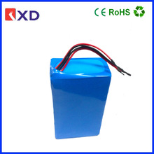 high capacity 12S lifepo4 36v 12ah battery pack