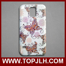 High quality 3D sublimation phone cases blanks for samsung Galaxy S5 i9600