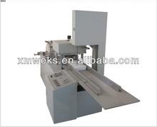 Gauze swab folding and splitting machine