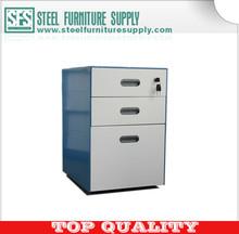 3 drawers pedestal/steel filing cabinets/office furniture