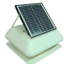 Good New! 14 inch 15 watt solar panel 24 V solar dc brush motor Ventilation Fan
