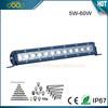 Hot sale 60W led light bar off road led lights atv led light bar