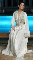 Khaleeji moroccan Beading Muslim Abaya Fashion Kaftan design Dress Kaftan Arabian Robe Islamic Dubai Wholesale K3083