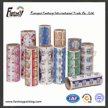 Easy peel off heat sealing plastic lidding roll film