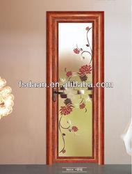 topscale aluminium and glass door with colour mirror design