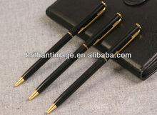 Metal Twist Ball Pen Slim/Metal Stylus Pen/Aluminum Pen/New 2014 Office Supply Stationary Ball Pen/Slim Cross Style Ball Pen