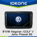 "Fábrica 8 "" HD Touch screen 2 din 2005 - 2010 vw new beetle com gps tmc, Câmera, Mic, Dvb - t"