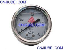 pressure gage for air compressor/ air pressure meter for compressor / piezometer for air comppressor part