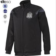 Argentina jacket Training Sportswear man Football black Sports tracksuit