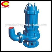 Wq não entupimento submergível centrífuga bomba de drenagem para máquina de lavar roupa