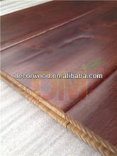 GuangZhou Teak Hardwood Handscraped Floor Exporter / Robina Flooring