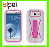 High quality and silicon hybrid cell phone case for samsung galaxy s3 cases