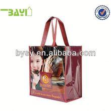 Lamination recycle big non woven custom print tote bag