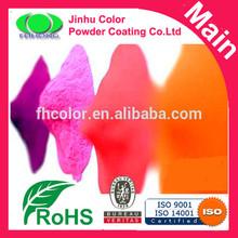 Powder coating in car paint