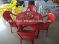 baratos de plástico mesas y sillas