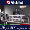 Mobilier de salle à manger chippendale/acajou, table à manger en bois/6 personne table et une chaise a-29
