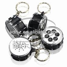 animal music keychain drum shape