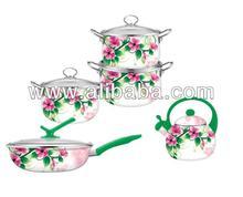 Cookware set ,kitchenware set,,teapot,frying pan set