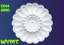 Plaster gypsum cornice for building decoration