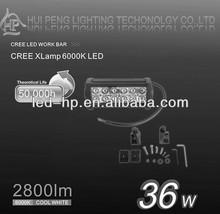 12V Spot Beam 36W Led Offroad Light Bar