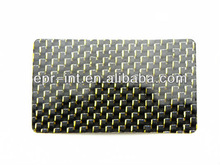 Carbon Fiber Veneers Staples Business Cards Name Card Colorful Xmas Cards