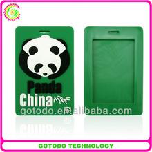 PVC custom shape wholesale pvc luggage Baggage tag