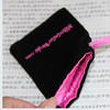 Alibaba Cheap Felt Hand-made Bean Carry Microfiber Mobile Phone Bag