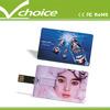 promotion gift 32gb custom usb credit card