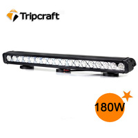 "Newest CREE Auto 12v Led driving lights 180W LED LIGHT BAR IP67 waterproof Offroad 29.3"" 180w Led offroad light"