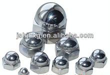 stainless steel head closed nut