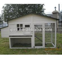 Wooden chicken breeding coop cage with Run CC033
