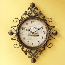 Gorgeous European Style Wall Clock Theme Digital Clock Wholesale
