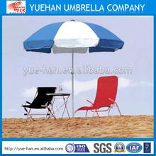 Newest design outdoor promotion beach umbrella