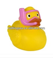 Hot selling rubber duck toys natural rubber baby toys