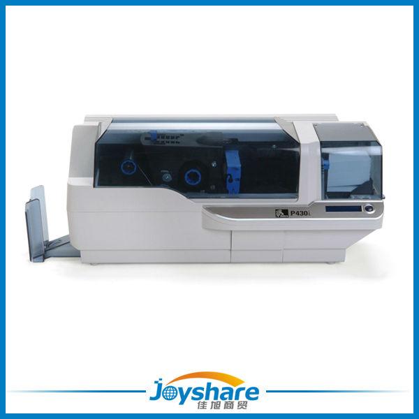 zebra p430i card printer full color dual sided PVC printing
