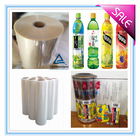 PVC shrink wrap films for packing label