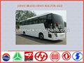 Japón marca 12m 50 plazas open top double decker bus hino para la venta, autobús de lujo de la venta
