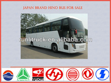 Japan brand 12m 50 seater open top double decker hino bus for sale, luxury bus sale