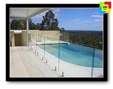 swimming pool glass panels